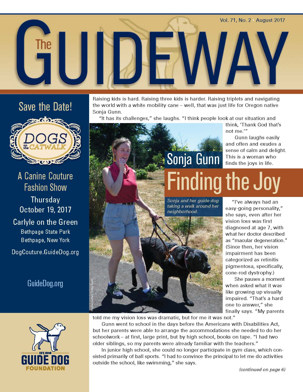 Cover photo and link to Guideway Issue #2 2017 PDF
