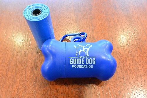 "Guide Dog Foundation ""Doggie Waste Bag Dispenser"""
